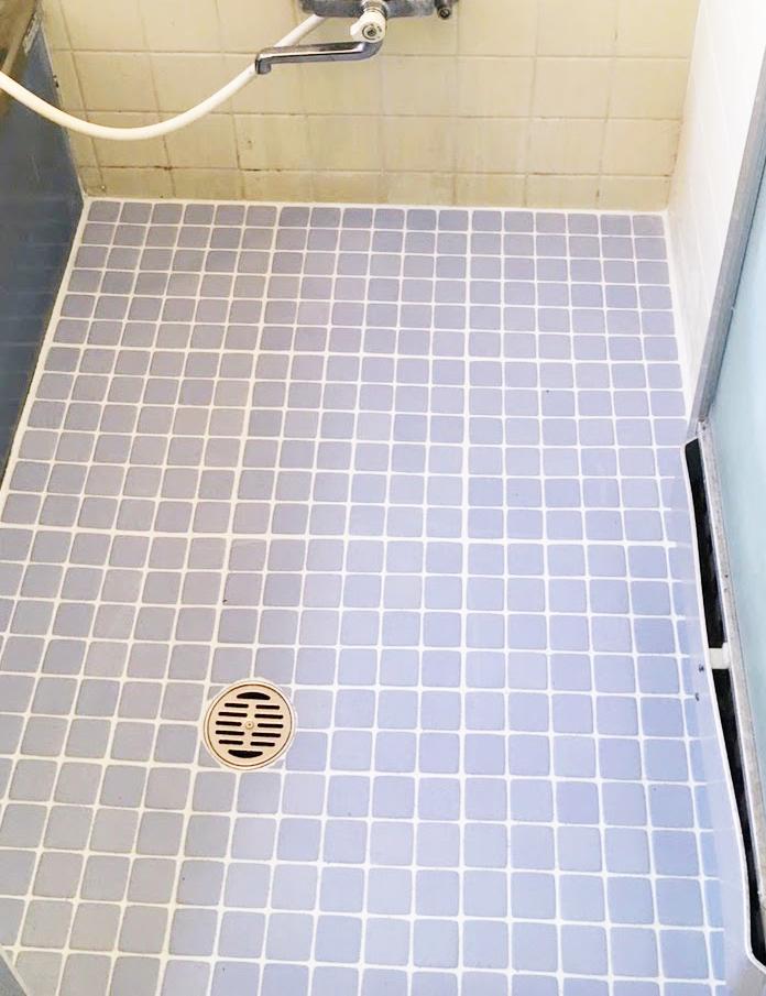 浴室床張替え 施工後